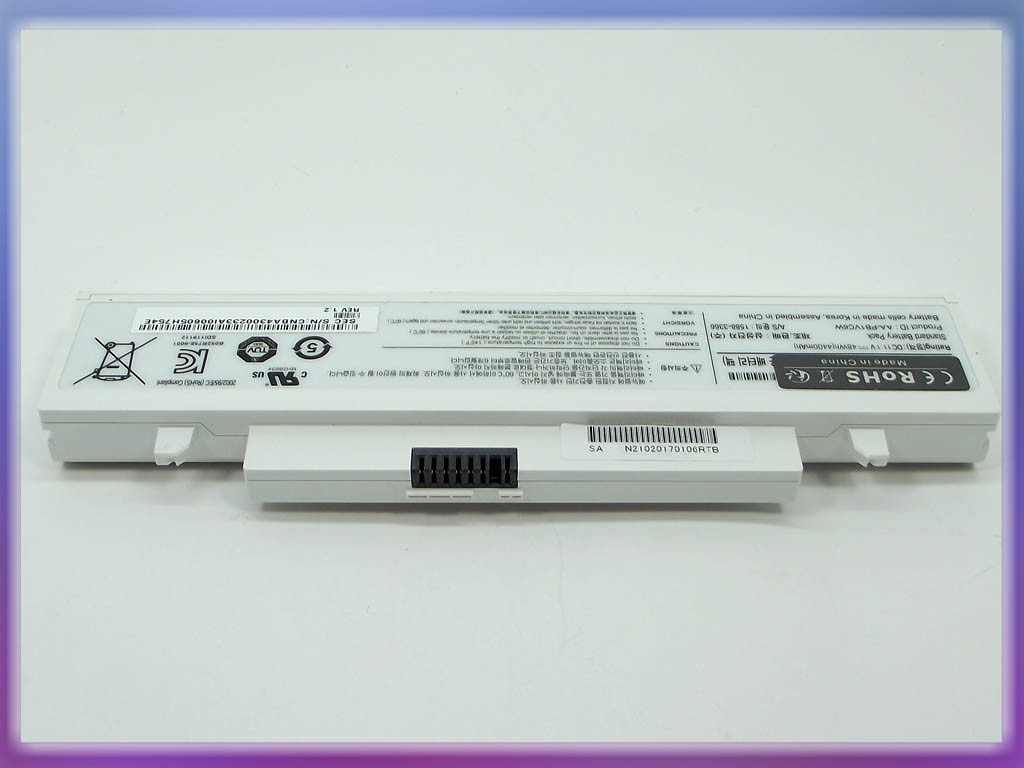 Аккумулятор Samsung N210 (11.1V 4400mAh White) ORIGINAL. (AA-PB1VC6B) 2