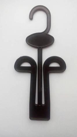 Обувные вешалки, тремпеля черные для обуви тапок, вьетнамок, кроссовок и др, фото 2