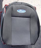 Авточехлы VIP FORD Transit Custom (2+1) 2012→ автомобильные модельные чехлы на для сиденья сидений салона FORD Форд Transit