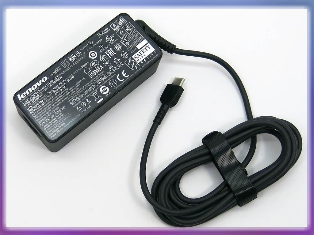 Блок питания Lenovo 20V 2.25A 45W (USB-C) ORIGINAL. p/n: ADLX45NDC3A 5