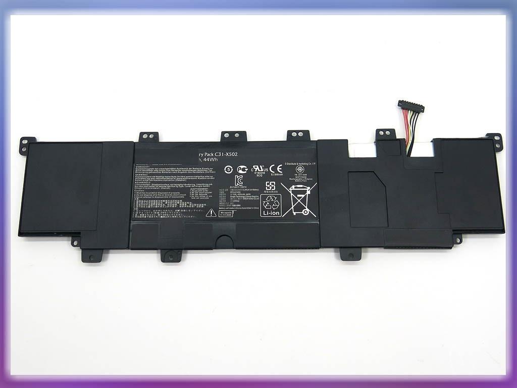 Аккумулятор ASUS (C31-X502, C21-X502) X502 (11.1V 4400mAh). Black. 2