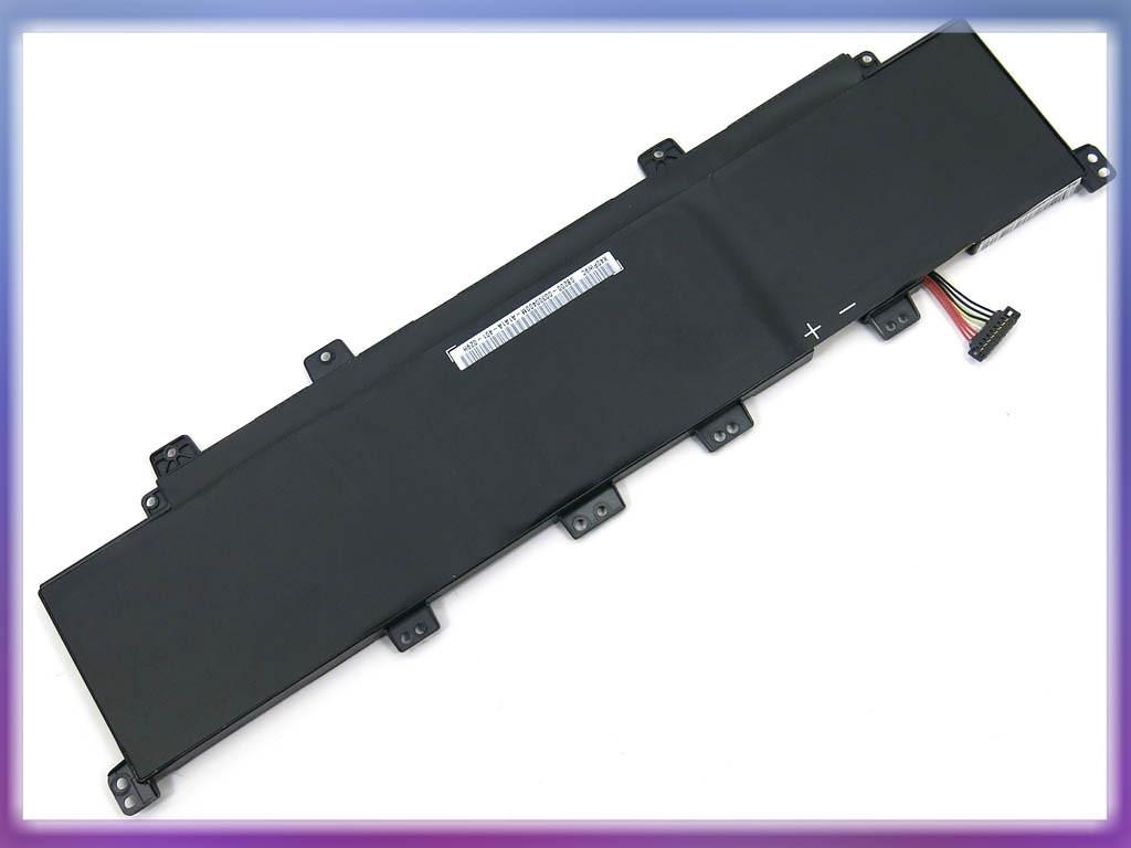 Аккумулятор ASUS (C31-X502, C21-X502) X502 (11.1V 4400mAh). Black. 3