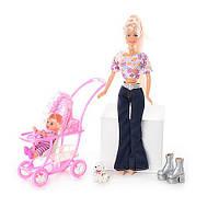 """Детская игровая кукла Defa Lucy """"Мама с дочкой на прогулке"""", 20958"""
