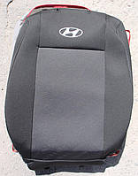 Авточехлы VIP HYUNDAI Accent 2010→ автомобильные модельные чехлы на для сиденья сидений салона HYUNDAI ХУНДАЙ Хендай Accent, фото 1