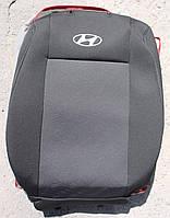 Авточехлы VIP HYUNDAI Sonata 2004-2010 автомобильные модельные чехлы на для сиденья сидений салона HYUNDAI ХУНДАЙ Хендай Sonata, фото 1