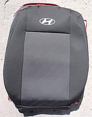 Чехлы VIP на Hyundai Santa Fe 2012- автомобильные модельные чехлы на для сиденья сидений салона HYUNDAI ХУНДАЙ