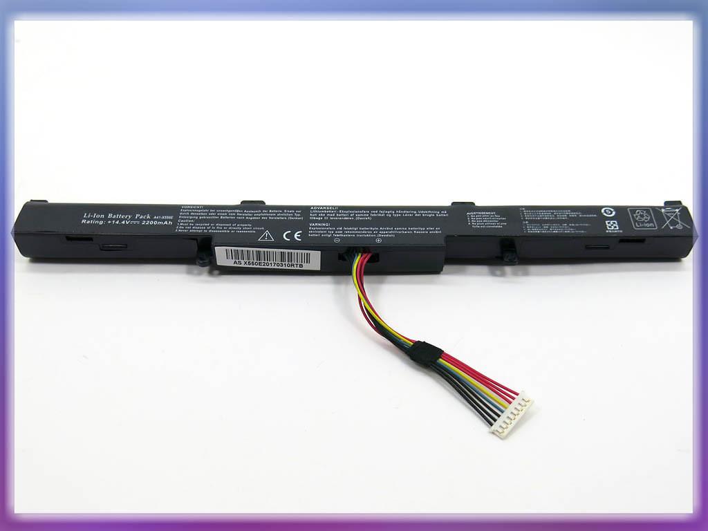Аккумулятор ASUS (A41-X550E) X450 (14.4V 2200mAh). Black 2