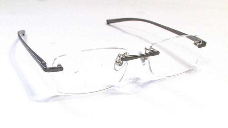 Безоправные очки с диоптриями