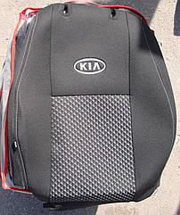 Чехлы VIP на сиденья KIA Rio 2011- автомобильные модельные чехлы на для сиденья сидений салона KIA КИА Rio