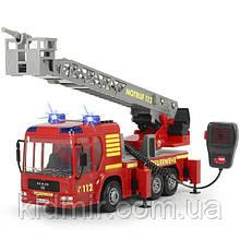 Игрушечная Пожарная машина с рацией 43 см (свет, звук, вода) City Fire Engine Dickie 3716003