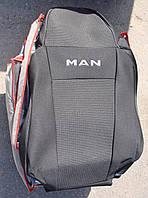Авточехлы VIP MAN LE8.180 (2+1) 2005 автомобильные модельные чехлы на для сиденья сидений салона MAN Ман LE 8.180, фото 1