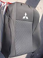 Авточехлы VIP MITSUBISHI Outlander XL 2005-2010 автомобильные модельные чехлы на для сиденья сидений салона MITSUBISHI Митсубиси Outlander