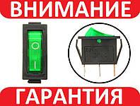 Переключатель, кнопка с подсветкой AC KCD3 250В 15А