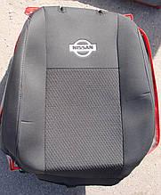 Авточехлы VIP NISSAN Cabstar (2+1) 2000→ автомобильные модельные чехлы на для сиденья сидений салона NISSAN Ниссан Cabstar