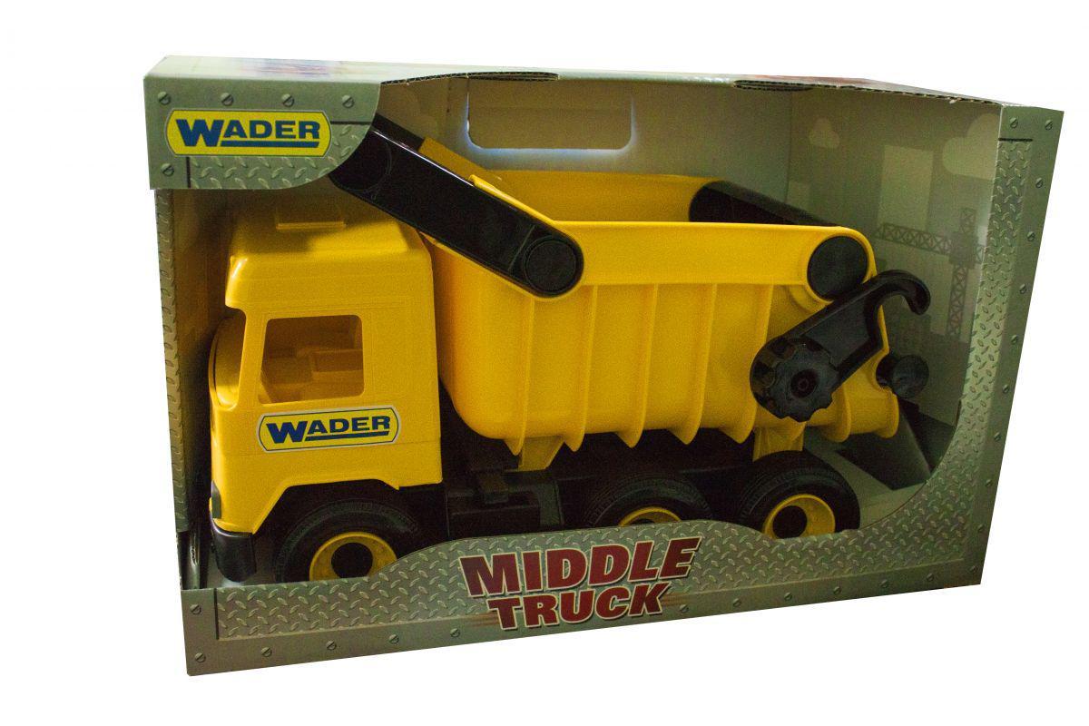 "Самосвал ""Middle truck"" (желтый)"