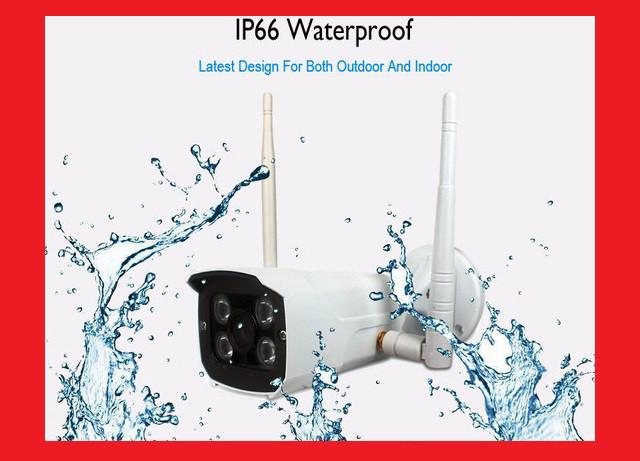 IP WiFi камера X8200 с удаленным доступом (уличная)