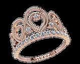 Кольцо  женское серебряное Корона 21146, фото 2