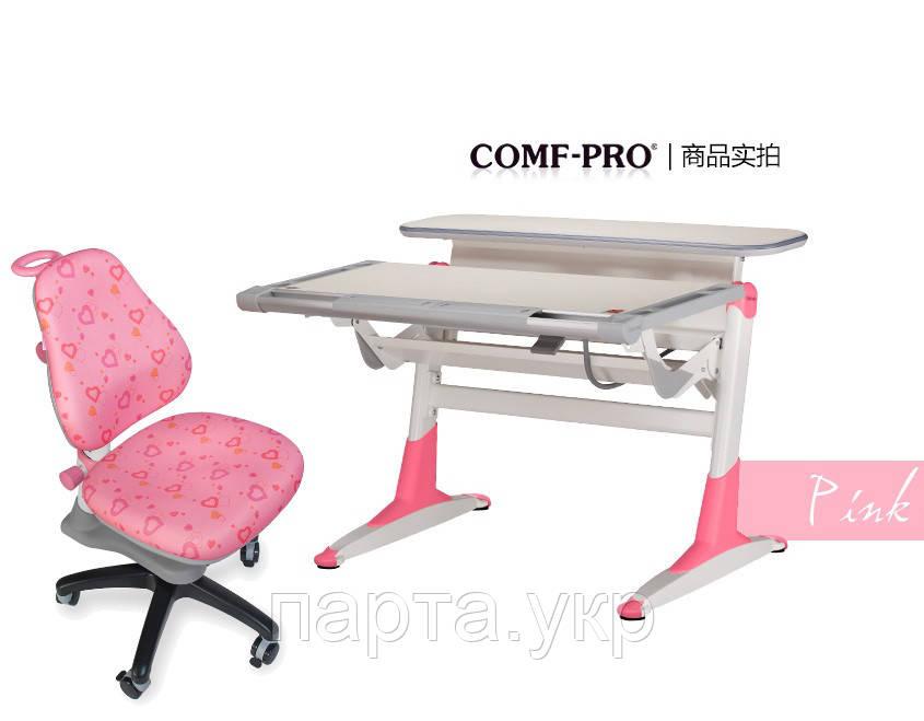 Парта-трансформер NOBLESSE и детское кресло 318