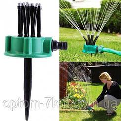 Спринклерний зрошувач multifunctional Water Sprinklers распилитель для газону 1871 VJ