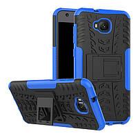 Чехол Armor для Asus ZenFone 4 Selfie / ZD553KL / ZB553KL / X00LDA противоударный бампер синий