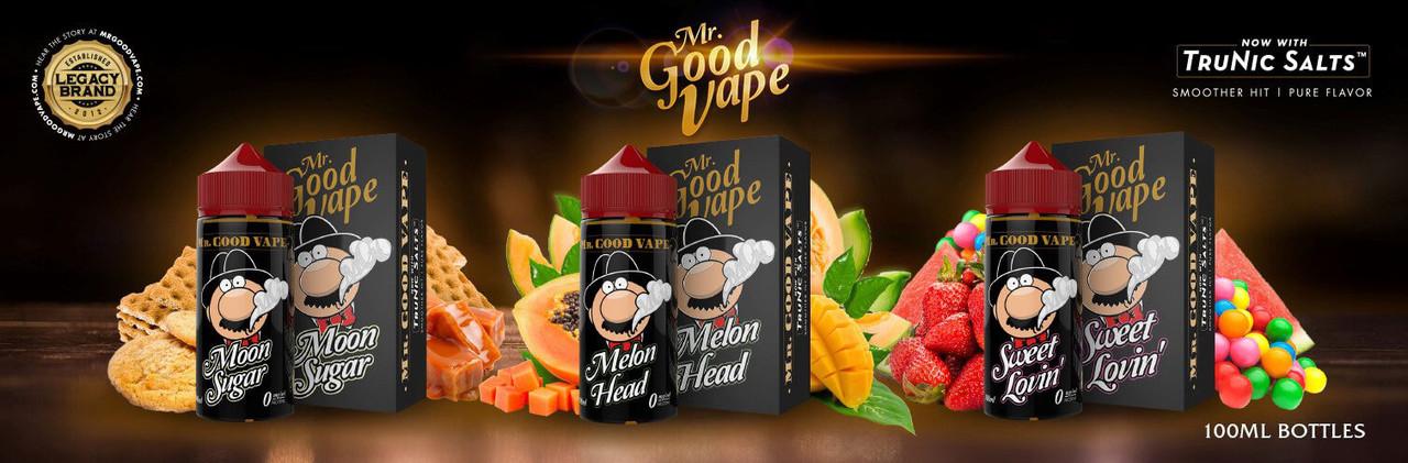 Жидкость для электронных сигарет Mr. Good Vape TruNic 2.0 100ml Original USA