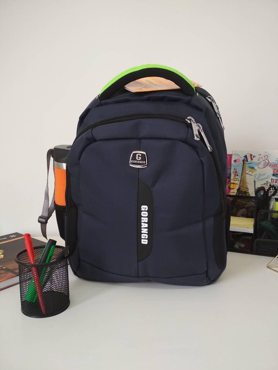 4b474900778a Рюкзак для школы с уплотненной спинкой Gorangd 40*31*17 см, цена 425 ...