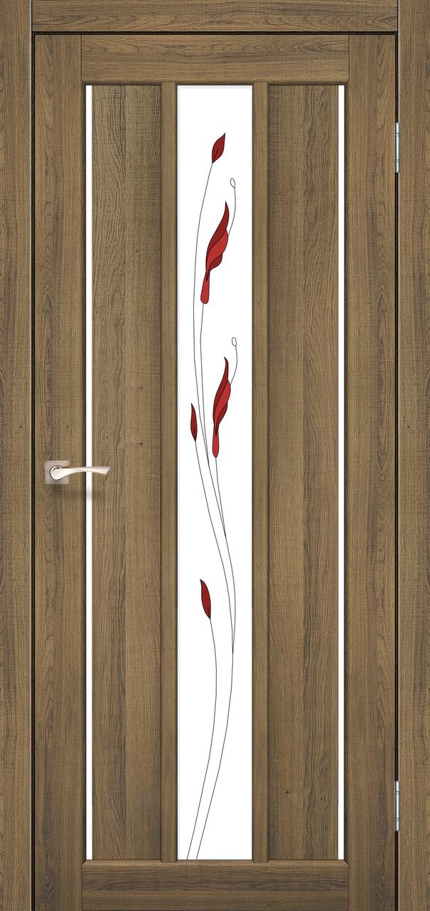 Двери Korfad VND-04 М1 Дуб браш