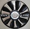 Крыльчатка вентилятора 646 мм с кольцом Howo Hania