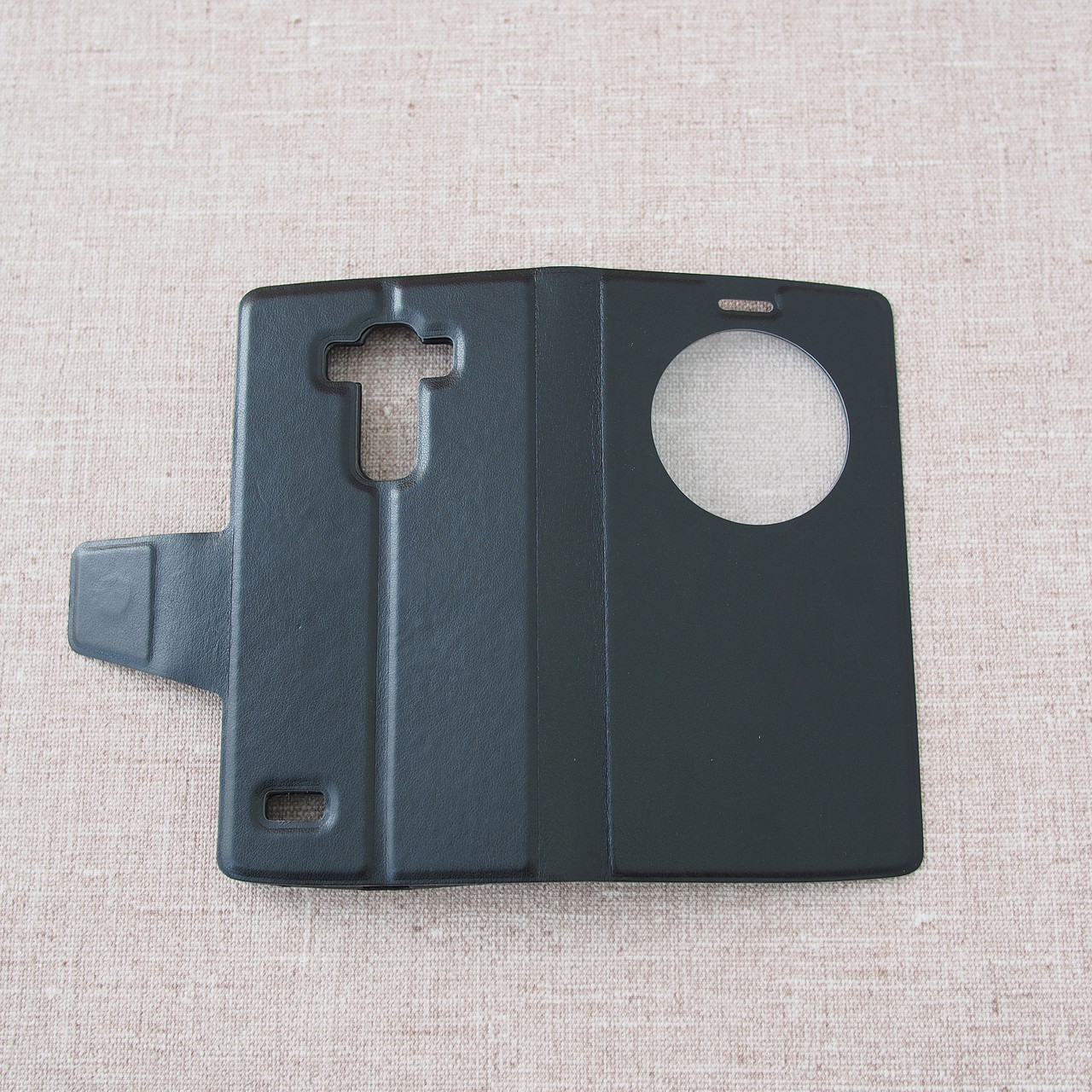 Чехол Book Cover LG G4s black Для телефона Черный