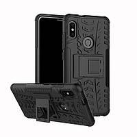 Чехол Armor для Xiaomi Redmi Note 5 / Note 5 Pro Global противоударный бампер черный