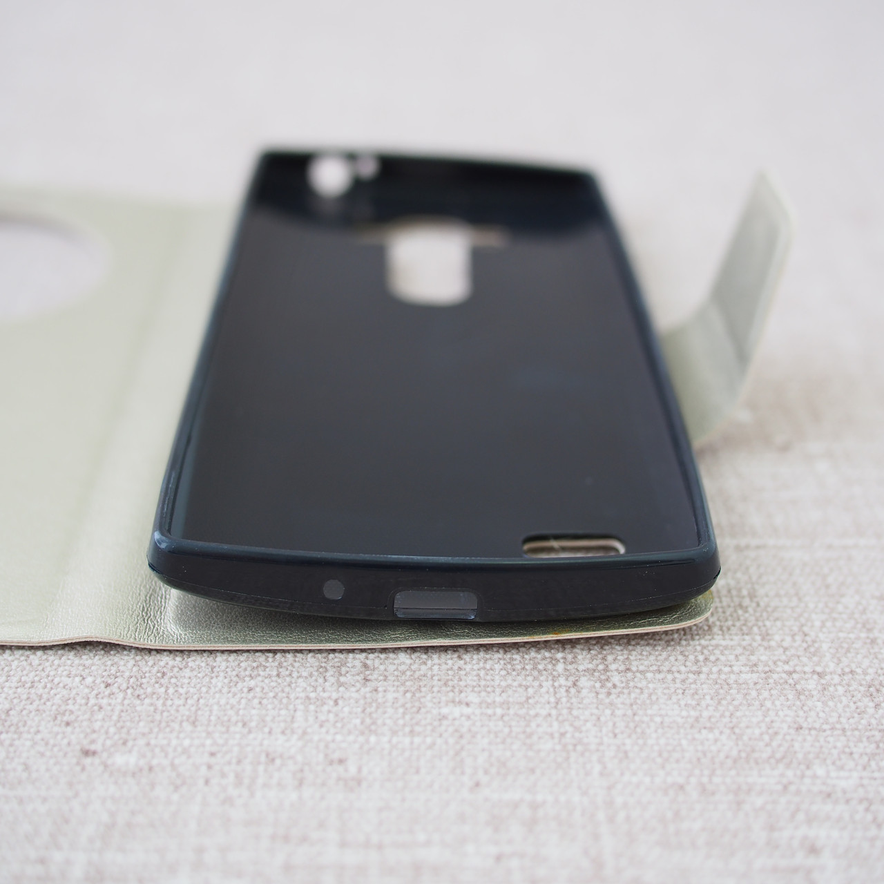 Book Cover LG G4s gold Для телефона