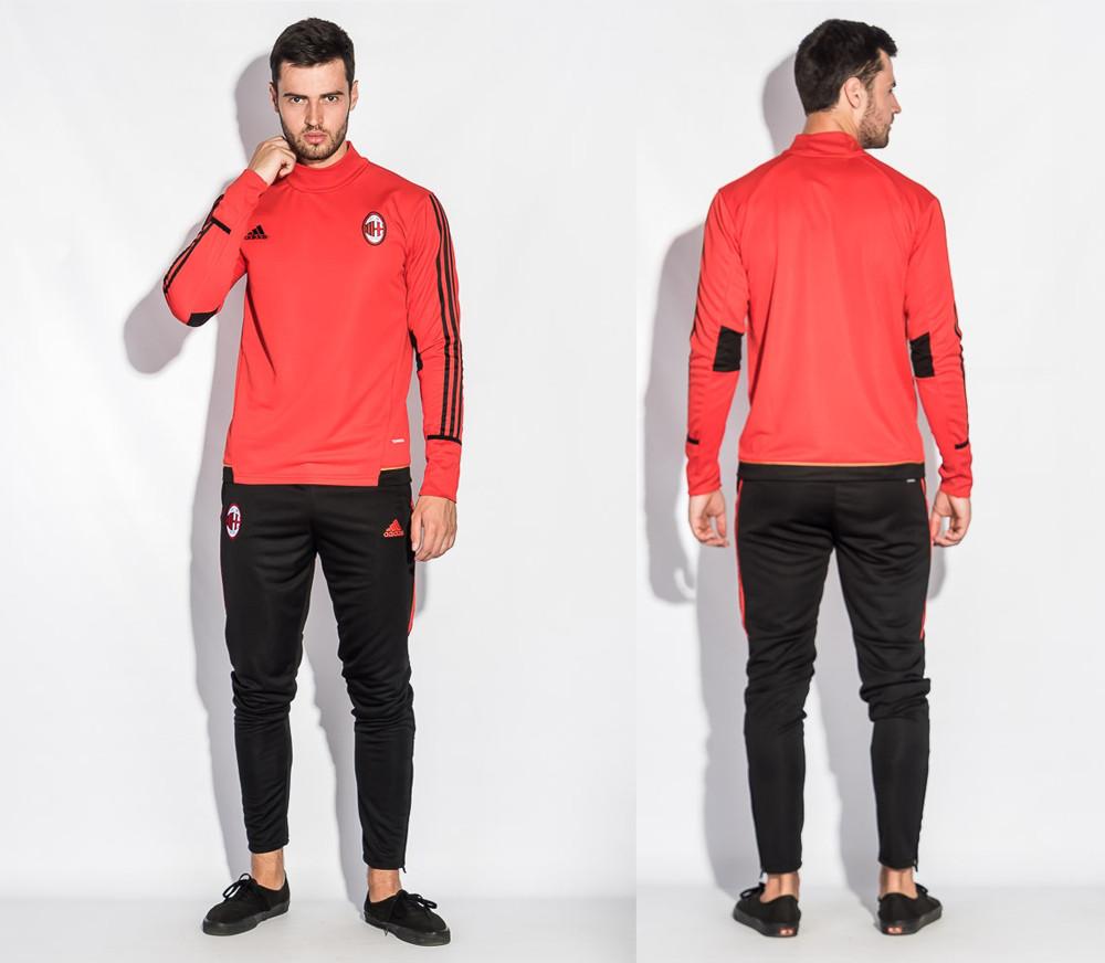 Спортивный костюм Милан (Тренировочный клубный костюм AC Milan)+в подарок горловик