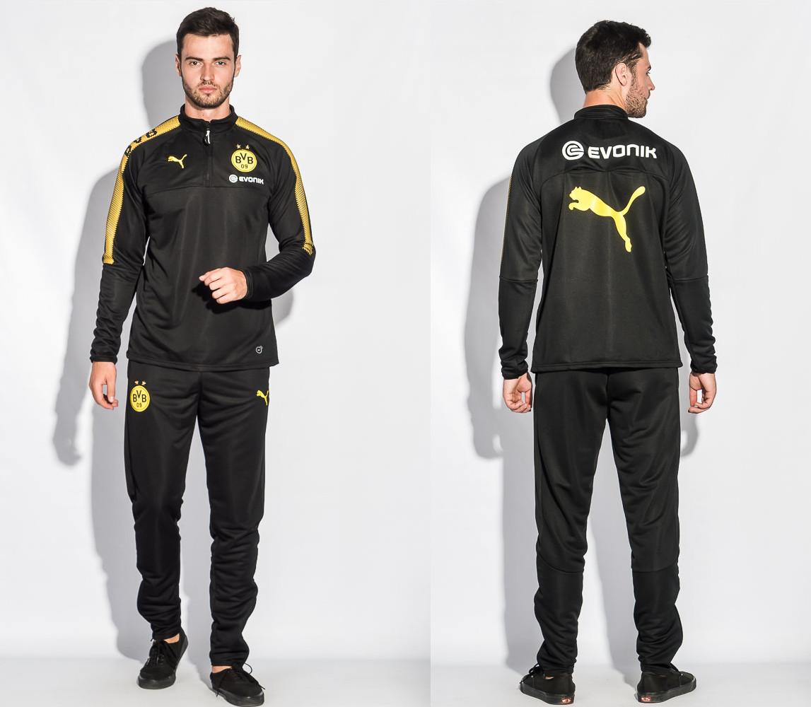 Спортивный костюм Боруссия (Тренировочный клубный костюм FC Borussia Dortmund ) [М]