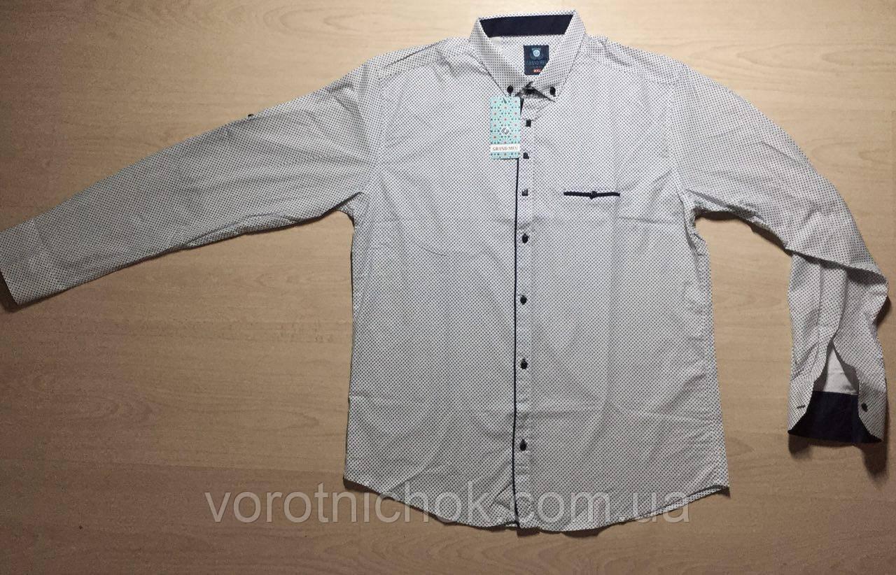 Мужская рубашка приталенная
