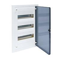 Распределительный щит внутренней установки на 36 мод.(3х12), GOLF, с прозрачной дверцей