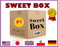 """Свит Бокс """"МЕГА"""" - подарочный набор из 50 лучших оригинальных сладостей со всего мира, США, Европа, Япония"""