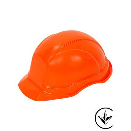 Каска будівельна М215-ORANGE, помаранчевого кольору, фото 2