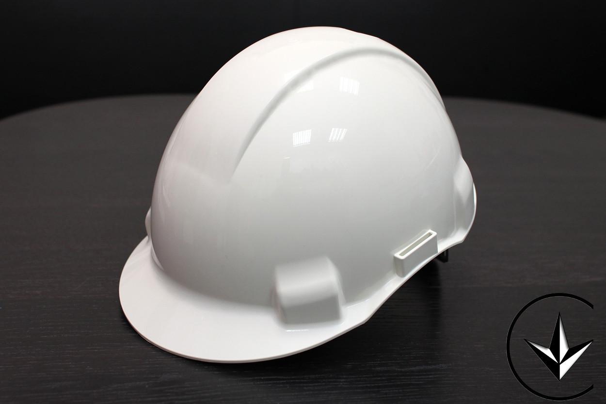 Каска будівельна М215-WHITE, білого кольору