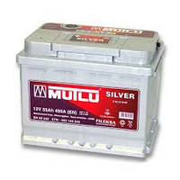 Аккумулятор автомобильный MUTLU Silver 6ст-55 Ач
