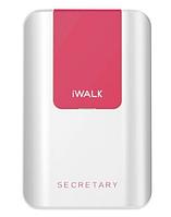Портативное зарядное устройство iWALK Secretary  10000 mAh Lightning/microUSB White