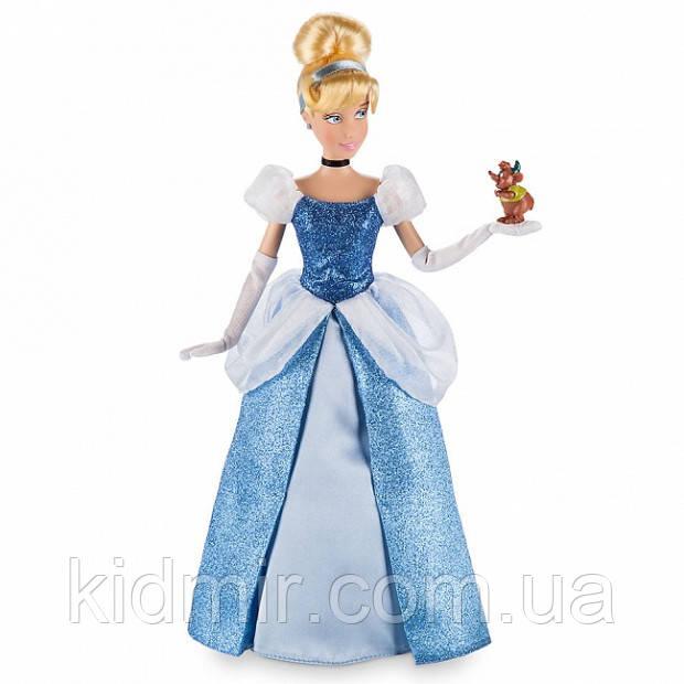 Принцесса Дисней Кукла Золушка с фигуркой мышонка Cinderella Disney