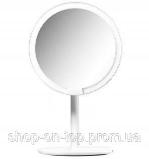 """Зеркало для макияжа AMIRO LUX  8"""" AML005G Black, фото 2"""