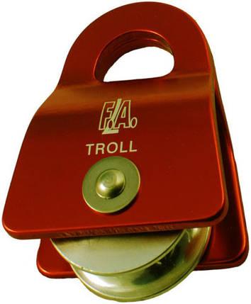 Блок-ролик одинарный First Ascent Troll 12 , фото 2