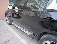 Боковые пороги BMW X5 E70 (под оригинал)
