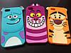 Мультяшные Силиконовый чехол для Iphone 5 и 5S Зверюшки