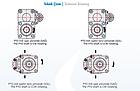 Шестеренчатый насос одностороннего направления 73л ISO/UNI серии 40 Hidromas, фото 2
