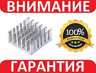 Алюминиевый мини радиатор 22х22х10мм, фото 1