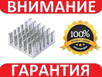 Алюминиевый мини радиатор 22х22х10мм