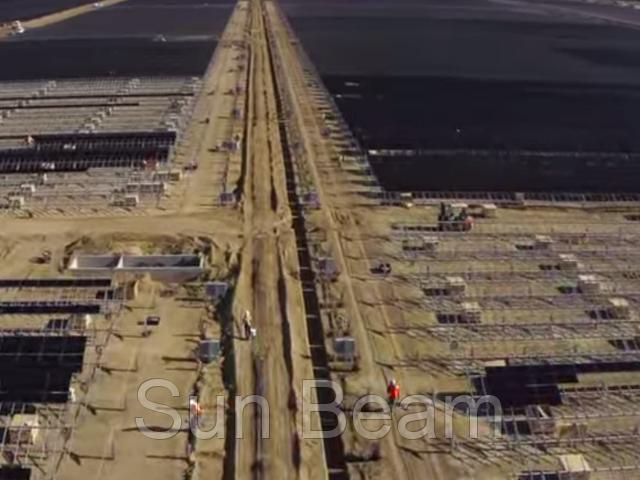 Самая мощная в мире солнечная электростанция.