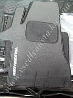 Ворсовые коврики Volkswagen T5 с 2003-2011 гг. (Серые)